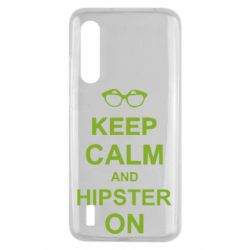 Чехол для Xiaomi Mi9 Lite Keep calm an hipster on