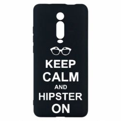 Чехол для Xiaomi Mi9T Keep calm an hipster on