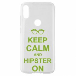 Чехол для Xiaomi Mi Play Keep calm an hipster on