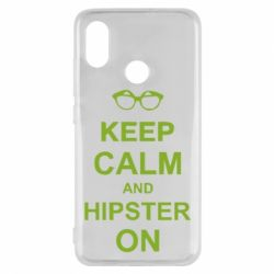 Чехол для Xiaomi Mi8 Keep calm an hipster on