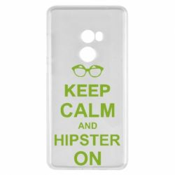 Чехол для Xiaomi Mi Mix 2 Keep calm an hipster on