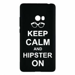Чехол для Xiaomi Mi Note 2 Keep calm an hipster on