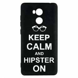 Чехол для Xiaomi Redmi 4 Pro/Prime Keep calm an hipster on