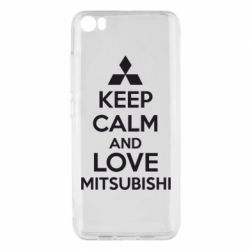 Чехол для Xiaomi Xiaomi Mi5/Mi5 Pro Keep calm an love mitsubishi - FatLine