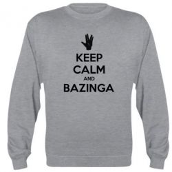 Реглан Keep Calm and Bazinga - FatLine