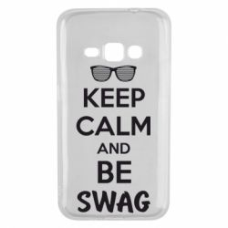 Чехол для Samsung J1 2016 KEEP CALM and BE SWAG - FatLine