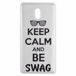 Чехол для Nokia 3 KEEP CALM and BE SWAG - FatLine