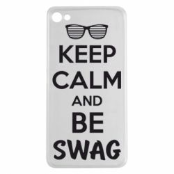 Чехол для Meizu U20 KEEP CALM and BE SWAG - FatLine