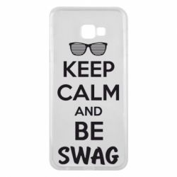 Чехол для Samsung J4 Plus 2018 KEEP CALM and BE SWAG - FatLine