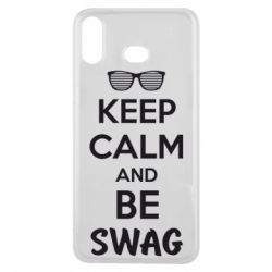 Чехол для Samsung A6s KEEP CALM and BE SWAG - FatLine