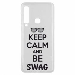 Чехол для Samsung A9 2018 KEEP CALM and BE SWAG - FatLine
