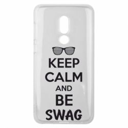 Чехол для Meizu V8 KEEP CALM and BE SWAG - FatLine