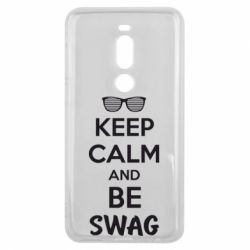 Чехол для Meizu V8 Pro KEEP CALM and BE SWAG - FatLine