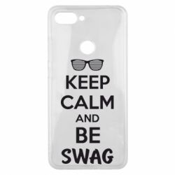 Чехол для Xiaomi Mi8 Lite KEEP CALM and BE SWAG - FatLine