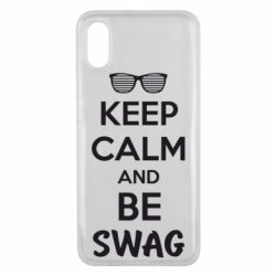 Чехол для Xiaomi Mi8 Pro KEEP CALM and BE SWAG - FatLine