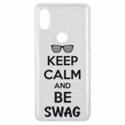 Чехол для Xiaomi Mi Mix 3 KEEP CALM and BE SWAG - FatLine