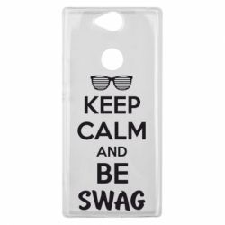 Чехол для Sony Xperia XA2 Plus KEEP CALM and BE SWAG - FatLine