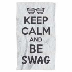 Полотенце KEEP CALM and BE SWAG - FatLine