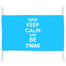 Прапор KEEP CALM and BE SWAG
