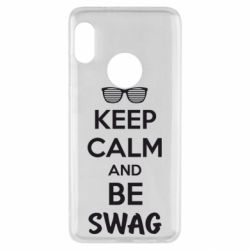 Чехол для Xiaomi Redmi Note 5 KEEP CALM and BE SWAG - FatLine