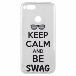 Чехол для Xiaomi Mi A1 KEEP CALM and BE SWAG - FatLine