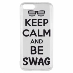 Чехол для Xiaomi Mi6 KEEP CALM and BE SWAG - FatLine