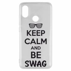 Чехол для Xiaomi Mi8 KEEP CALM and BE SWAG - FatLine