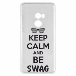 Чехол для Xiaomi Mi Mix 2 KEEP CALM and BE SWAG - FatLine