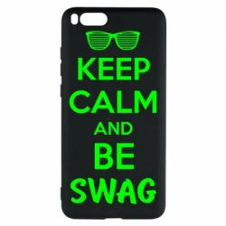 Чехол для Xiaomi Mi Note 3 KEEP CALM and BE SWAG - FatLine