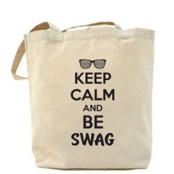 Сумка KEEP CALM and BE SWAG - FatLine