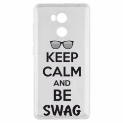 Чехол для Xiaomi Redmi 4 Pro/Prime KEEP CALM and BE SWAG - FatLine