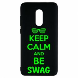 Чехол для Xiaomi Redmi Note 4 KEEP CALM and BE SWAG - FatLine