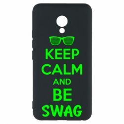 Чехол для Meizu M5 KEEP CALM and BE SWAG - FatLine