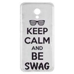 Чехол для Meizu M6s KEEP CALM and BE SWAG - FatLine