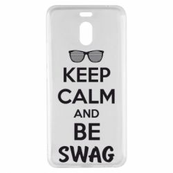 Чехол для Meizu M6 Note KEEP CALM and BE SWAG - FatLine