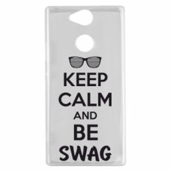 Чехол для Sony Xperia XA2 KEEP CALM and BE SWAG - FatLine