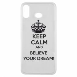 Чохол для Samsung A6s KEEP CALM and BELIVE YOUR DREAM