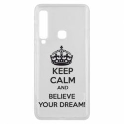 Чохол для Samsung A9 2018 KEEP CALM and BELIVE YOUR DREAM