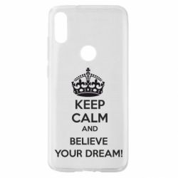 Чохол для Xiaomi Mi Play KEEP CALM and BELIVE YOUR DREAM