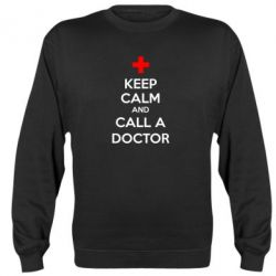 Реглан (свитшот) KEEP CALM and CALL A DOCTOR - FatLine