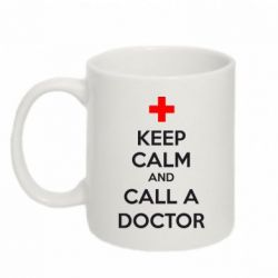Кружка 320ml KEEP CALM and CALL A DOCTOR - FatLine