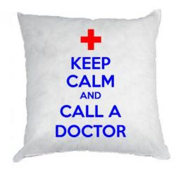 Подушка KEEP CALM and CALL A DOCTOR