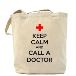 Сумка KEEP CALM and CALL A DOCTOR