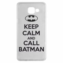 Чехол для Samsung A5 2016 KEEP CALM and CALL BATMAN