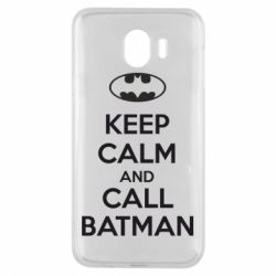 Чехол для Samsung J4 KEEP CALM and CALL BATMAN