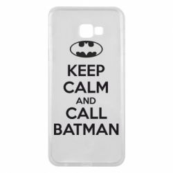 Чехол для Samsung J4 Plus 2018 KEEP CALM and CALL BATMAN