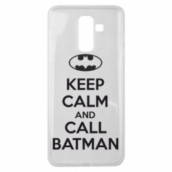 Чехол для Samsung J8 2018 KEEP CALM and CALL BATMAN