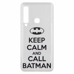 Чехол для Samsung A9 2018 KEEP CALM and CALL BATMAN