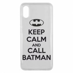 Чехол для Xiaomi Mi8 Pro KEEP CALM and CALL BATMAN