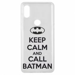 Чехол для Xiaomi Mi Mix 3 KEEP CALM and CALL BATMAN